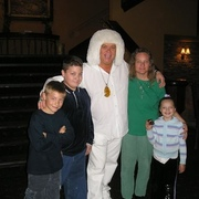 Gary, my kids, and me when I met my Twin-Flame