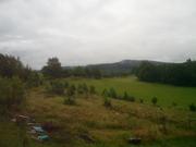 Výhled z terasy pro maringotku a domek (dá - li bůh a úřady)