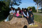 Lic Reina Cortellezzi y estudiantes de 1CaB ESCTECRosario