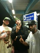 A smoked-out Celph, a crazy Rugged Man & the F-word himself F.T.