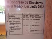 II CONGRESO DE DIRECTORES. ESCUINTLA GUATEMALA 22 DE AGOSTO