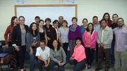 Estudiantes de la Maestría en Educación de Universidad de San Carlos de Guatemala.