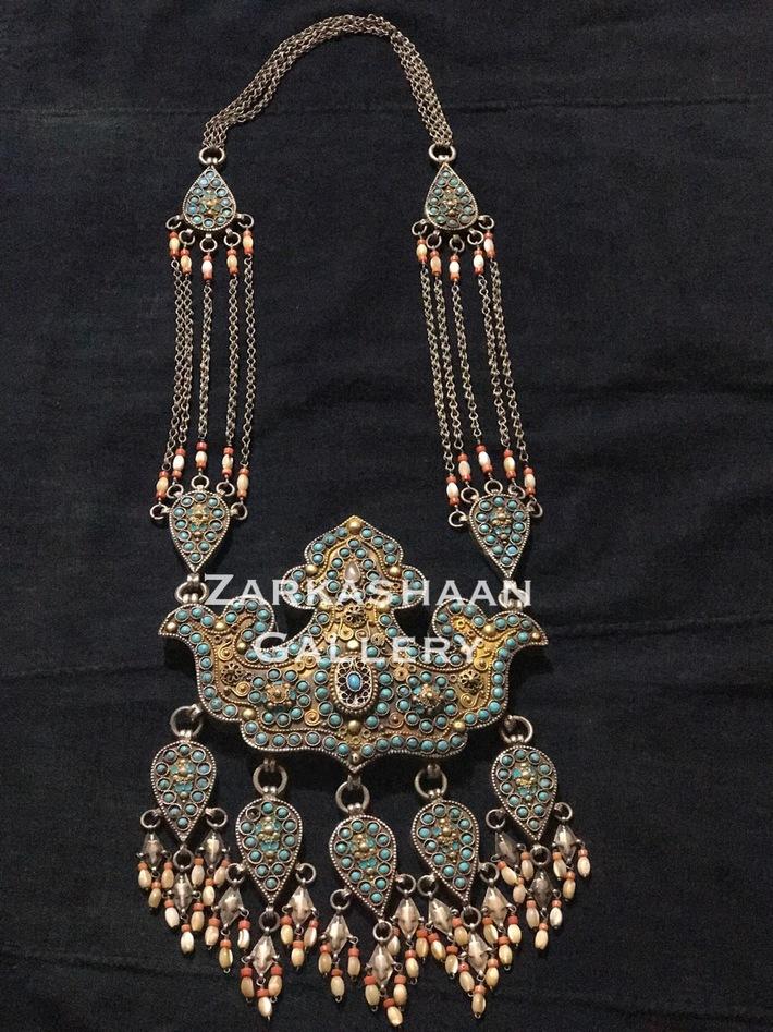 Tribal Bukhara necklace