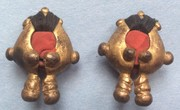 """Robot"" Earrings from Maluku"