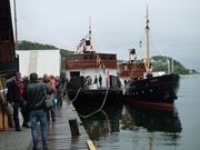 MF Folgefonn 1 og MS Granvin i Norheimsund. Foto Harald Sætre 15.05.2011 11-38-39