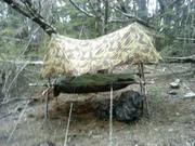 raised shelter