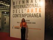 Me at the Biennale.