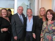 Photo from the opening reception at LMNT Gallery in Miami
