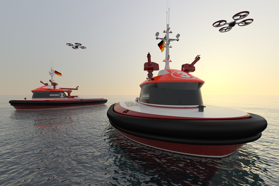 RAmora 2600 fireboats