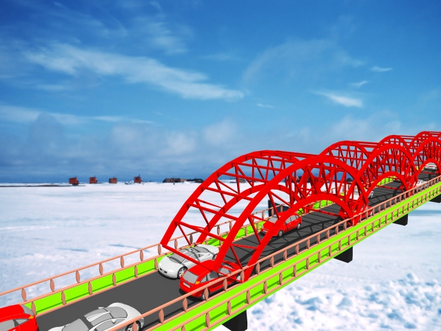 Bridges on Snow