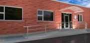 New Office Block Entrance
