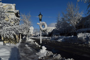 Main Street After Blizzard M