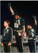 Tommy Smith, John Carlos and Peter Norman
