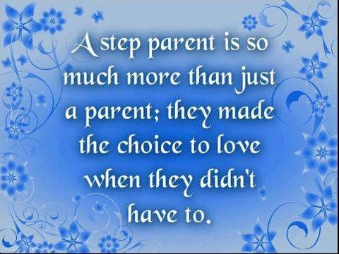 Choosing To Love...Step Parent...
