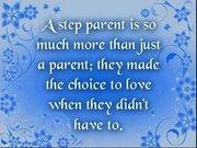 Choosing To Love...Step Parent...
