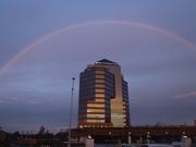 Durham, North Carolina. Summer 2012 - full spectrum rainbow