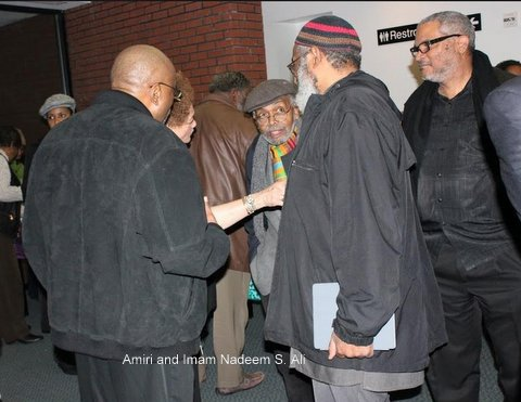 Amiri Baraka At Memorial For Comrade Faye Bellamy Atlanta, Ga.