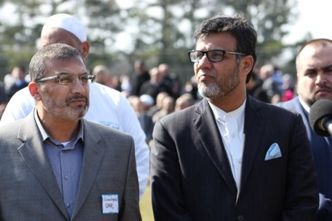 Janaza In Raleigh N.C. 3 Slane Muslim Youth 2/12/15