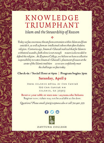 Zaytuna Benefit Dinner