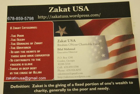 Zakat U.S.A./ Ibrahim ONour Charitable Fund