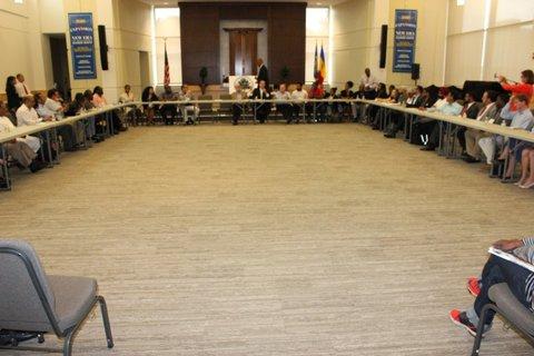 Interfaith Round Table ...Atlanta, Ga. With Chairman John Eaves