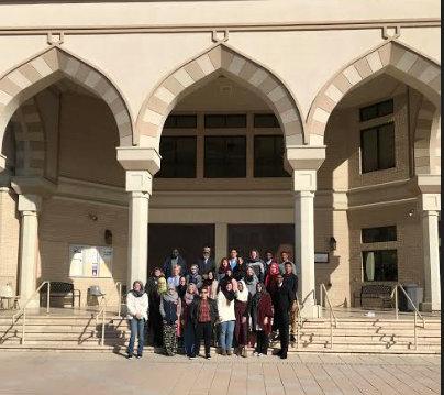 Al Farooq Host Students From Piedmont College  2018