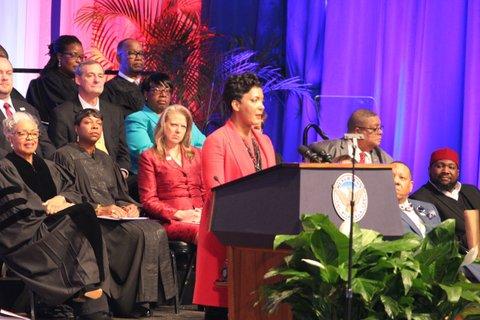 Inauguration of Atlanta's Mayor Keisha Lance Bottoms