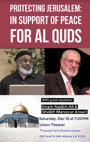 In Support Of Peace For Al Quds