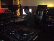 Studio time..
