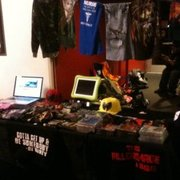 The Wu Management booth