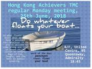 HK Achievers TMC June 25 Regular Meeting