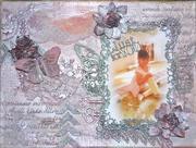 Canvas Piece for Imaginarium Designs & Lindy's Stamp Gang Blog Hop