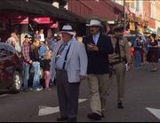 Otis, Col. Harvey and Gomer  Mayberry Days 2014