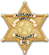 Mayberry Sheriff's Auxiliary Chapter TAGSRWC