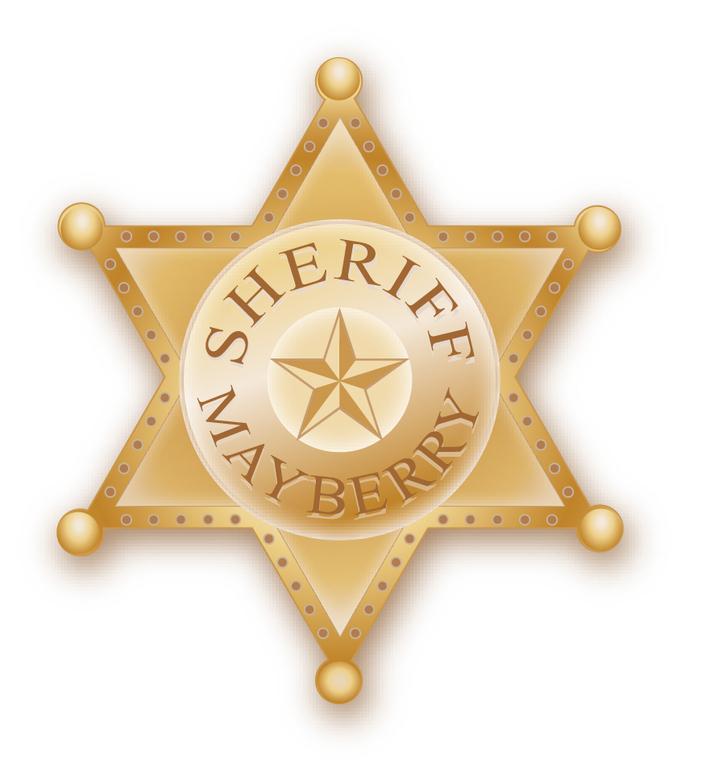 Shiriff badge