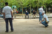 Boules in Luxembourg Gardens