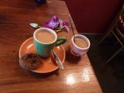 espresso presented beautifully
