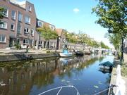 quiet canal in Leiden