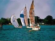 0 sail boat Watercolor
