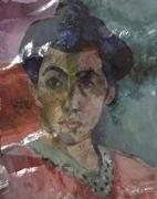 Variations on Matisse, Green Line