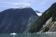 Iceberg and Mountains Tracy Arm