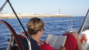 Reading by the lighthouse