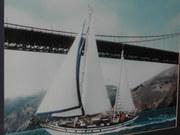 Full sail at the gate
