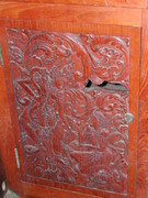 cabinet carving