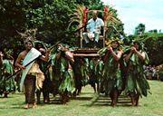 HRH The Prince Philip, Duke of Edinburgh in Rarotonga 1971. Photo by Billy Johnson - Copyrighted