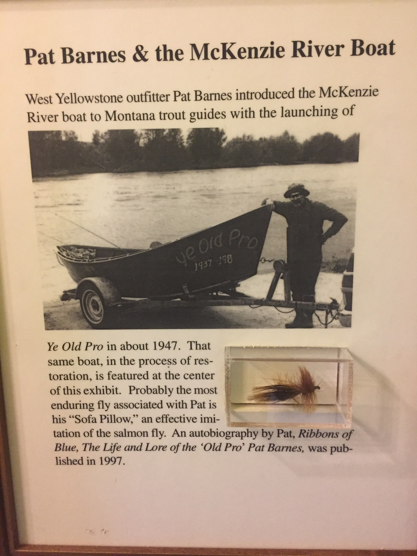 First Mckenzie River drift boat in Montana?