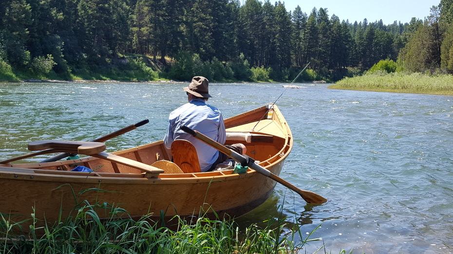 On the Big Blackfoot River, Montana