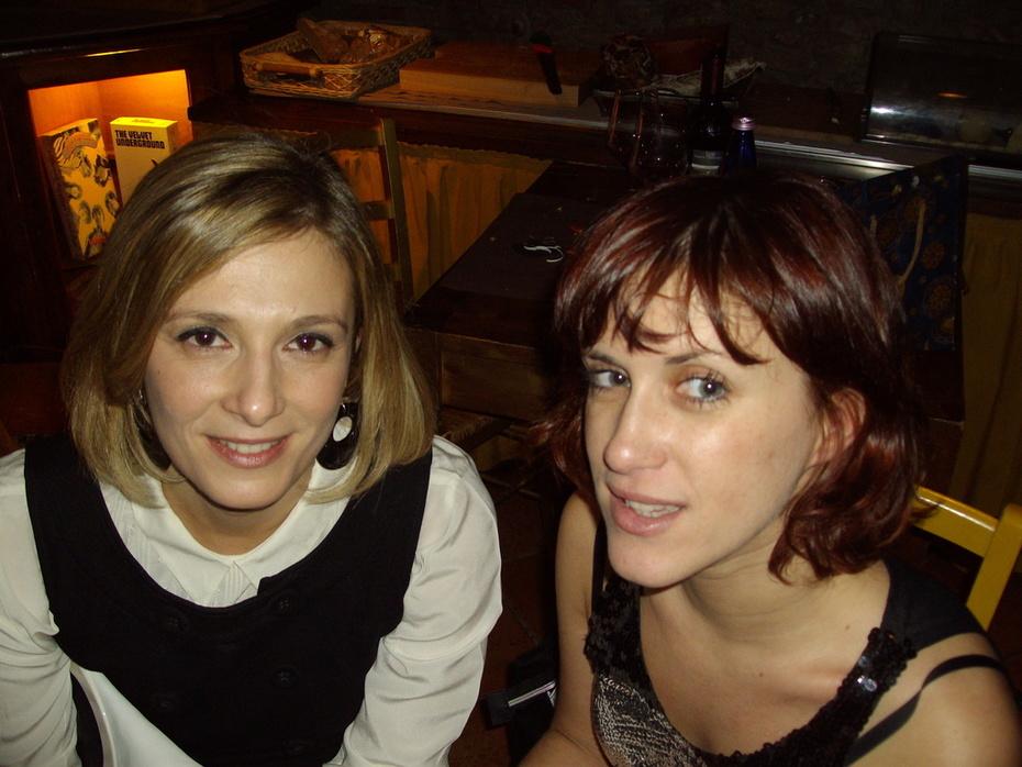 me and my friend Linda