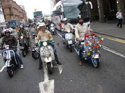 glasgow mod weekender ride out.