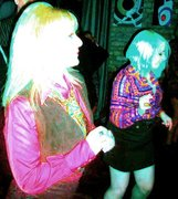 Orlagh and Fiona at Afterglow Feb 2011